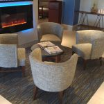 Holiday Inn Express Fireplace & Lounge Area Roseville, MN