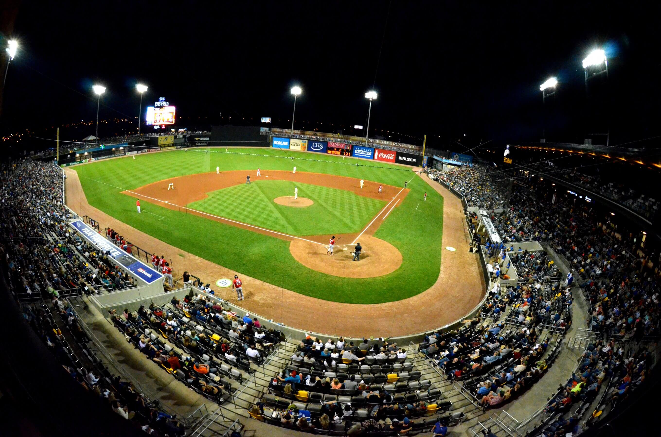 CHS Field Saint Paul Saints Minnesota