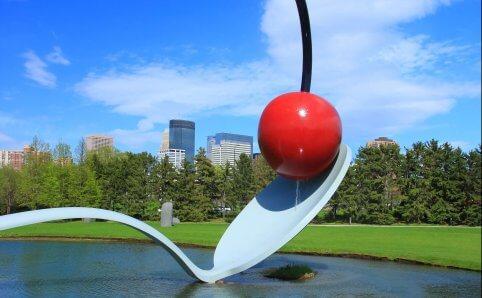 Minneapolis Sculpture Garden Cherry and the Spoon