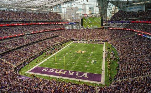 US Bank Stadium Minnesota Vikings Minneapolis, MN