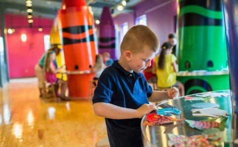 Crayola Experience Mall of America Minnesota