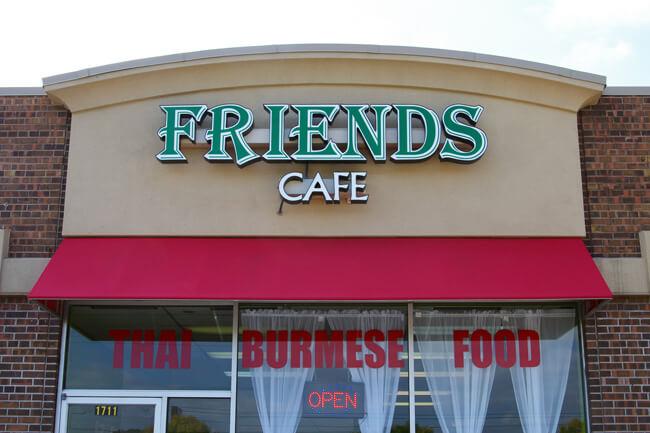 Friends Cafe Roseville, MN