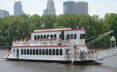 Minneapolis Queen Cruises Mississippi River Minnesota