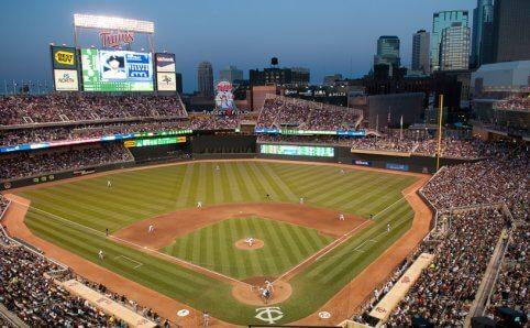 Minnesota Twins Target Field Minneapolis, MN