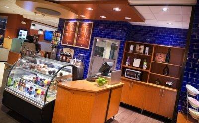 Radisson Roseville, MN lobby cafe
