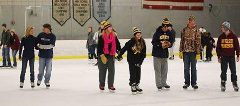 Roseville Skating Center Public Skating Roseville, MN