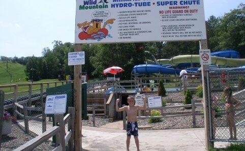 Wild Mountain water park