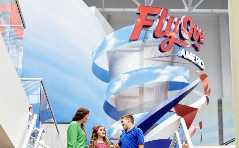 FlyOver America Mall of America Minnesota