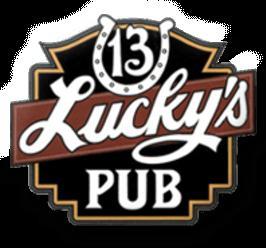 Lucky's 13 Pub Logo